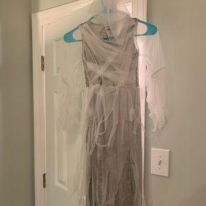Other - Ghost Girl velvet and mesh costume